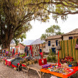 Market on Road Cusco-Puno,Peru — Stock Photo