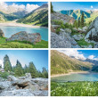 Big Almaty Lake ,Kazakhstan — Stock Photo