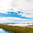 Stock Photo: Lake Titicaca,South America