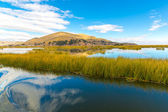 Lake Titicaca,South America — Stock Photo