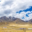 Panorama of Andes — Stock Photo