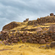 Funerary towers in Sillustani, Peru — Stock Photo #36400309