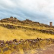 Funerary towers in Sillustani, Peru — Stock Photo #36400377