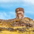 Funerary towers in Sillustani, Peru — Stock Photo #36400447