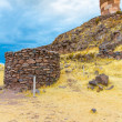 Funerary towers in Sillustani, Peru — Stock Photo #36400603