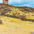 Funerary towers in Sillustani, Peru — Stock Photo #36400677