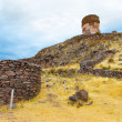 Funerary towers in Sillustani, Peru — Stock Photo #36400679