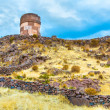 Funerary towers in Sillustani, Peru — Stock Photo #36400731