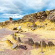Funerary towers in Sillustani, Peru — Stock Photo #36401193