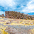 Funerary towers in Sillustani, Peru — Stock Photo #36402043