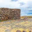 Funerary towers in Sillustani, Peru — Stock Photo #36402127