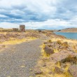 Funerary towers in Sillustani, Peru — Stock Photo #36402191