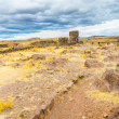 Funerary towers in Sillustani, Peru — Stock Photo #36402393