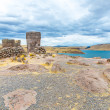 Funerary towers in Sillustani, Peru — Stock Photo #36402415