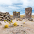 Funerary towers in Sillustani, Peru — Stock Photo #36402435