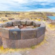 Funerary towers in Sillustani, Peru — Stock Photo #36402651