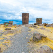 Funerary towers in Sillustani, Peru — Stock Photo #36402657