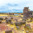 Funerary towers in Sillustani, Peru — Stock Photo #36402721