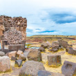Funerary towers in Sillustani, Peru — Stock Photo #36403017