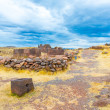 Funerary towers in Sillustani, Peru — Stock Photo #36403215