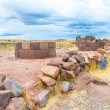 Funerary towers in Sillustani, Peru — Stock Photo #36403239