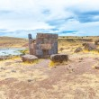 Funerary towers in Sillustani, Peru — Stock Photo #36403327