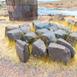 Funerary towers in Sillustani, Peru — Stock Photo #36403413