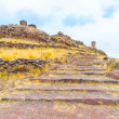 Funerary towers in Sillustani, Peru — Stock Photo #36403521