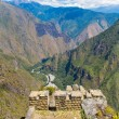Stock Photo: IncWall in Machu Picchu