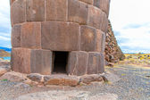 Funerary towers in Sillustani, Peru — Stock Photo