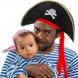 Child boy in costume pirate — Stock Photo #36415651