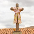 Religious monument in Peru — Stock Photo