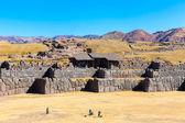 Inca Wall in SAQSAYWAMAN, Peru — Stock Photo