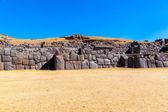 Inca Wall in SAQSAYWAMAN — Stock Photo