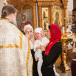 Christening ceremony — Stockfoto