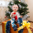 Santa baby boy — Stock Photo #39777397