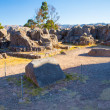 Stock Photo: Located at Archaeological Park of Saqsaywaman