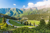 Nature near Big Almaty Lake — Stock Photo