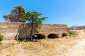Ruins of old town in Rethymno — Fotografia Stock