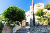 Small cretan village — Stock Photo