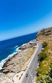 Road around fortress in Rethymno — Stockfoto