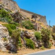 Stock Photo: Road around fortress in Rethymno