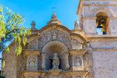 Velha igreja em arequipa — Foto Stock