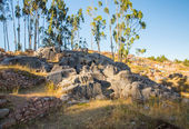 Archeologisch park van saqsaywaman — Stockfoto