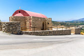 Small cretan village — Stock Photo