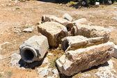 Ruiny starého města v Rethymnu — Stock fotografie