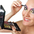 Stock Photo: Woman with makeup