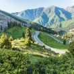 Nature near Big Almaty Lake — Stock Photo #40594291