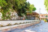 Small cretan village in Crete — Stock Photo