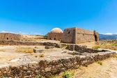 Rovine della vecchia città di rethymno — Foto Stock
